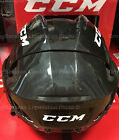 CCM Fitlite 40 Hockey Helmet! Small Medium Large SR, Black Navy White Adjustable