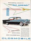 1955 Oldsmobile Car ad Super 88 Holiday Coupe  z62