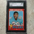 1971 Topps Ken Houston #113 - HOF Rookie RC - SGC 88 (8.0) NM-MT