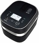 ☀Toshiba☀ RC-10ZPH-K Vacuum pressure IH rice cooker 5.5 Cup /  Black - Ship EMS