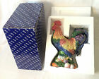 Fitz & Floyd Coq Du Village Pitcher - chicken / rooster with box & foam liners