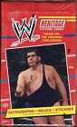 2012 Topps WWE Heritage Wrestling Hobby box Factory sealed Autos Relics