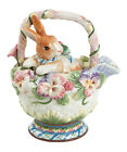 Fitz and Floyd Bunny Halcyon  Teapot   New in Box