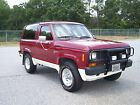 Ford Bronco II 4X4 SPORT 1 owner cold ac 4 wd v 6 5 speed rare xl flair pkg cruise alloys suv wagon beauty