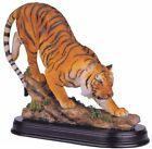 Bengal Tiger Collectible Wild Cat Animal Decoration Figurine Statue