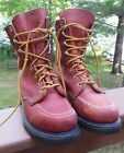 Vintage Red Wing Leather Boots USA Made Size 7B