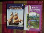 A Beka Book Adventure in GreatnessSpeed Comprehension Reader Trails to Explore