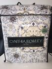 NEW 3pc CYNTHIA ROWLEY MULTI-COLOR FLOWERS MEDALLION QUILT SET QUEEN