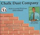 AP Calculus DVDs 12 Chalk Dust Company + Barrons 13th ed + NEW Flashcards
