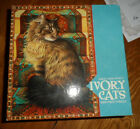CEACO 1000 PIECE JIGSAW PUZZLE - IVORY CATS - FACTORY SEALED
