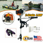 New 36HP 2 Stroke Heavy Duty Outboard Motor Boat Engine w Water Cooling System