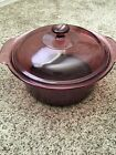 Corning Ware Vision Cranberry 5L Dutch Oven W Lid