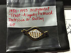 DAR 1980 1983 Investment Trust Pin Shelby Administration