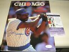 AUTOGRAPHED ANDRE DAWSON 1988 CUBS YEARBOOK JSA AUTHENTICATED WITH CARD