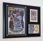 MIGUEL CABRERA CARDS & TOPPS 5X7 99 WALL ART DISPLAYED ON A 9X12 PLAQUE MARLINS