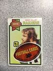 1979 Topps FOOTBALL Cello Pack - Dave Dalby Top - Steve Schubert Back