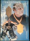 GERRY CHEEVERS BYRON DAFOE AUTHENTIC PIECES OF GAME-USED MEMORABILIA 50 SP