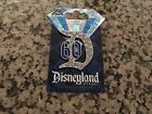 Jewled D Disneyland 60th Anniversary Diamond Celebration DLR Disney Pin