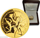2012  200 zl Poland Polish Olympic Team LONDON Gold Coin with Box + FREE GIFT