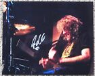 Authentic STEVEN ADLER of GUNS AND ROSES Signed COLOR 8x10 PHOTO Axl Rose SLASH