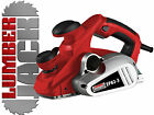 Lumberjack 850W 82mm Electric Heavy Duty Wood Planer with Fence