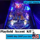 4ft  pinball machine playfield LED MOD  all colors available RED