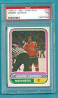 1975-76 OPC WHA 64 Andre Lacroix AS San Diego! PSA 8 NM-MT! ONLY 9 PSA HIGHER!