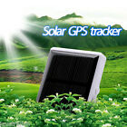 Solar GPS/GSM Tracker Mini Portable Locator Waterproof for Outdoor Activity