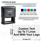 15 x 3 Trodat 4926 Rubber Self Inking Stamp Custom Text up to 7 Lines