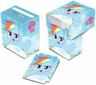 My Little Pony CCG Rainbow Dash Deck Box & Sleeves 65 Per Pack.