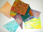 CBS Dichroic Glass Scrap 1 Pound Pack 90COE Variety MIXED on Clear  Black