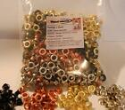 Pack of 600 self backing Eyelet Pieces 5 16 Inch 4 colors 150 Black 150 Copper