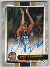 SHERYL SWOOPES 2016 Panini National NSCC VIP Gold Pack Hall of Fame AUTO