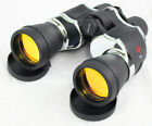 Perrini New 20x60 Zoom Binoculars Black  Chrome Sharp View Quick Focus  pouch