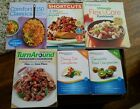 Weight Watchers Points Plus Food and Dining Out Companions AND Lot of Cookbooks