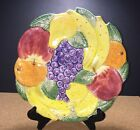 Fitz and Floyd CALYPSO FRUIT ironstone Hanging Plate