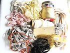 1 Lb. Lot of Vintage Sewing Ribbons Trims Wraps Quilt Binding Craft Sewing