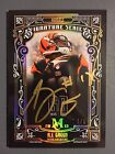 2015 Museum Signature Series AJ Green 60th Anniversary Gold Auto 1 1 Bengals