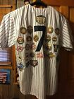 Mickey Mantle 1951 Cooperstown Collection Jersey With ALL world Series Patches