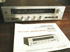 VTG 80's REALISTIC STA-450  Solid State AM/FM Stereo Receiver Works Great.