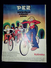 PEZ - NEWSPAPER COMMERCIAL ADVERTISEMENT - CHILDREN BICYCLES VERY RARE 1970'S
