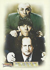 2005 C3 The Three Stooges Collectors Cards Promo 3 Card Set + 2 Updates