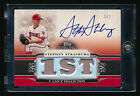 2010 TOPPS STERLING STEPHEN STRASBURG RC TRIPLE RELIC JERSEY AUTO NATIONALS #1 1