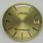ORIGINAL MIDO COMMANDER GOLD DIAL MODEL 8223 WITH CRYSTAL