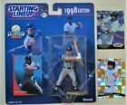Larry Walker Starting Lineup Extended Series 1998 w/ cards