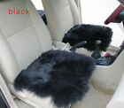 Genuine Sheepskin Long Wool Car Seat Covers Chair Cushion 1pcs Multi Color Opti