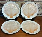 Fitz & Floyd MONOTONE Bread plate set of 4, 6 1/2