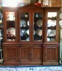 Cherry Large Breakfront China Cabinet Davis Cabinet Co