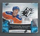 UPPER DECK 2015-16 SPX FACTORY SEALED HOCKEY HOBBY BOX