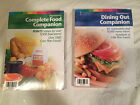 Lot of 2 WEIGHT WATCHERS 2004 COMPLETE FOOD Dining out POINTS Plus reference